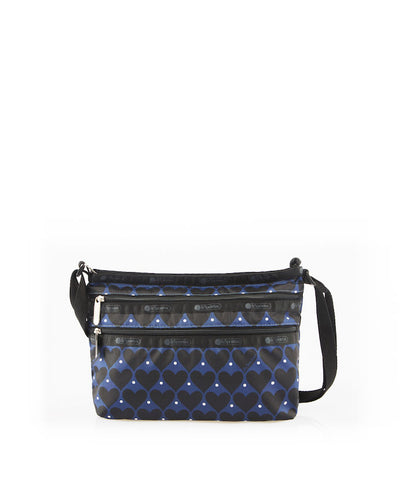 Quinn Bag - House Of Hearts Blue | LeSportsac