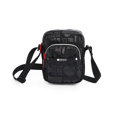 Charlie Crossbody - It's The Real Thing Noir | LeSportsac Malaysia
