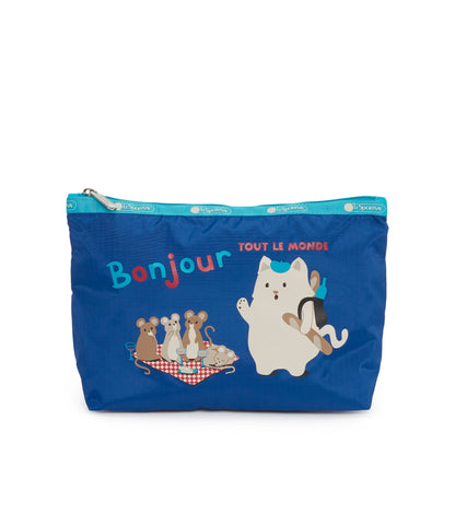 Large Tommie Clutch - Bonjour Kitty | LeSportsac