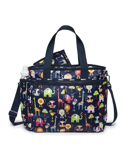 Ryan Baby Tote - Zoo Cute B | Front