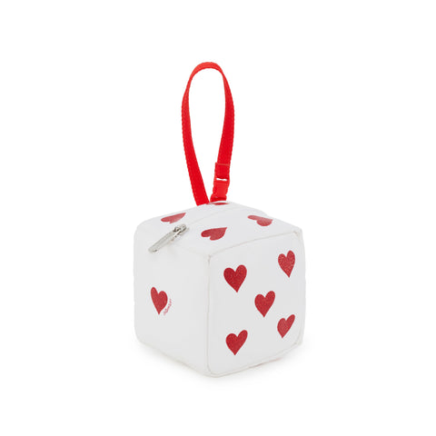 Cube Wristlet Roll The Dice White | LeSportsac