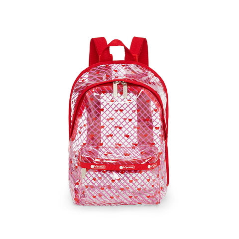 Clear Small Backpack - Lighthearted | LeSportsac Malaysia