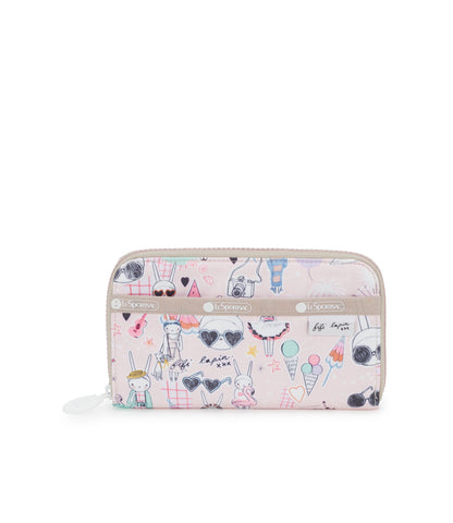 Lily Wallet - Fifi Pool Party | Fifi Lapin x LeSportsac