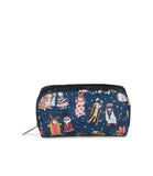 Rectangular Cosmetic Pouch - Midnight Masquerade