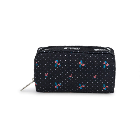 Rectangular Cosmetic Pouch - Flamingo Beach - LeSportsac