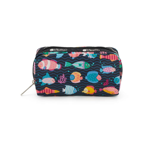 Rectangular Cosmetic pouch - Pop Fish - LeSportsac
