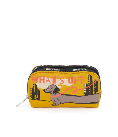 Rectangular Cosmetic pouch - Sup Dog | LeSportsac