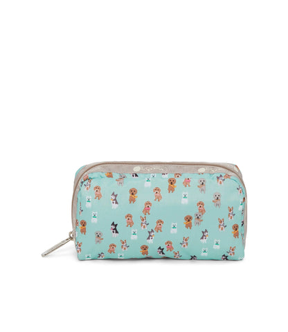 Rectangular Cosmetic pouch - Party Pups | LeSportsac Malaysia