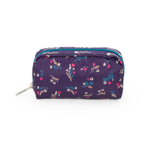 Rectangular Cosmetic - Yucca Purple Bouquet | LeSportsac Malaysia