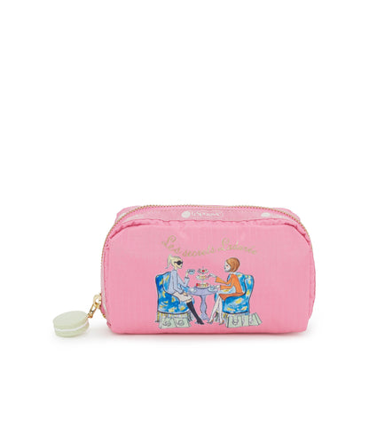 Rectangular Cosmetic - Time For Tea | Les Secrets Ladurée x LeSportsac