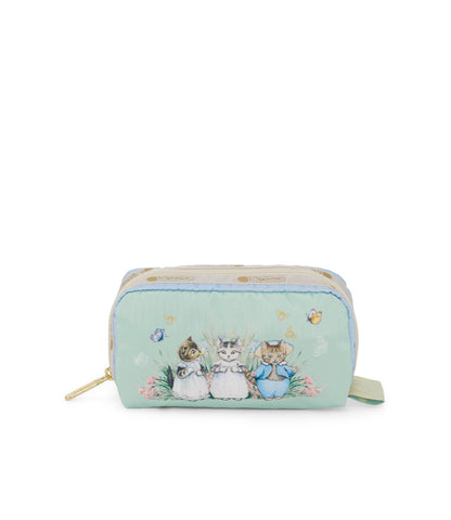 Rectangular Cosmetic pouch - Garden Kittens (Twitchit Family™) | LeSportsac