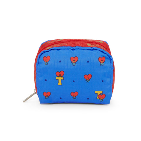 Square Cosmetic pouch - BT21 TATA | LeSportsac Malaysia