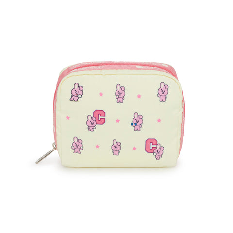 Square Cosmetic pouch - BT21 COOKY | LeSportsac Malaysia
