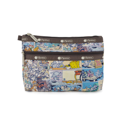 Cosmetic Clutch - Tom and Jerry Comic | LeSportsac