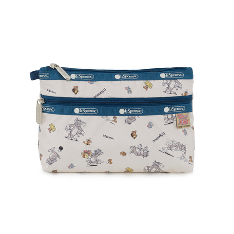 Cosmetic Clutch - The Chase | Tom And Jerry x LeSportsac
