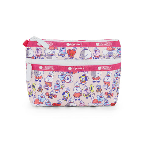 Cosmetic Clutch - BT21 Multi Accessories | LeSportsac Malaysia
