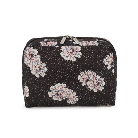 XL Rectangular Cosmetic Pouch - Peony Party | LeSportsac