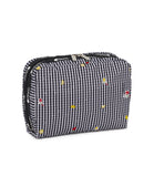 XL Rectangular Cosmetic Pouch - Picnic Punch