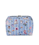 XL Rectangular Cosmetic Pouch - Tea For Two | LeSportsac