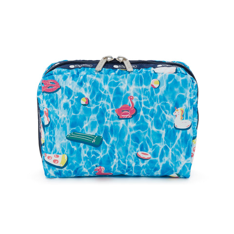 XL Rectangular Cosmetic Pouch - Pool Party - LeSportsac