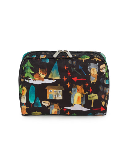 XL Rectangular Cosmetic pouch - Hello Bears | LeSportsac