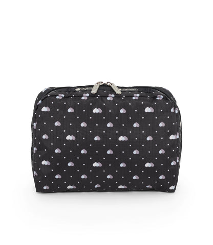 XL Rectangular Cosmetic pouch - Love Me Most | LeSportsac Malaysia
