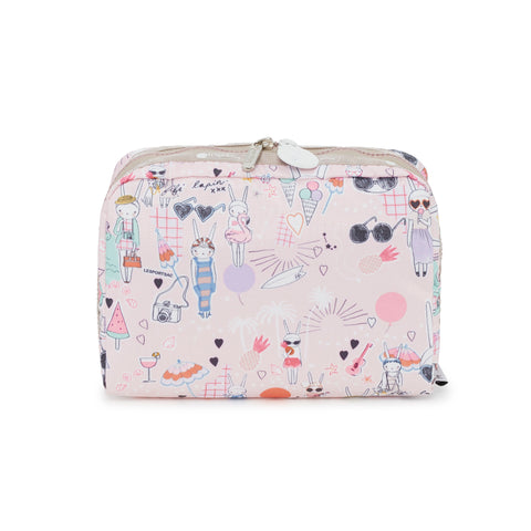 XL Rectangular Cosmetic Pouch - Fifi Pool Party | Fifi Lapin x LeSportsac