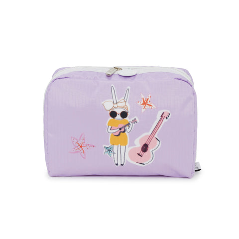 XL Rectangular Cosmetic Pouch - Night And Day | Fifi Lapin x LeSportsac