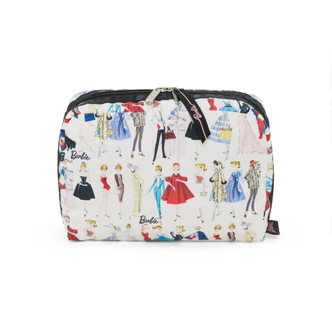 XL Rectangular Cosmetic pouch - All Dolled Up | LeSportsac Malaysia