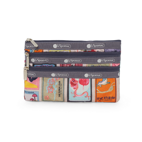 3-Zip Cosmetic Pouch - Perfect Match | LeSportsac Malaysia