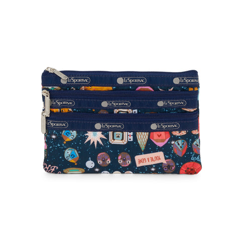 3-Zip Cosmetic pouch - Little Jewels | LeSportsac Malaysia