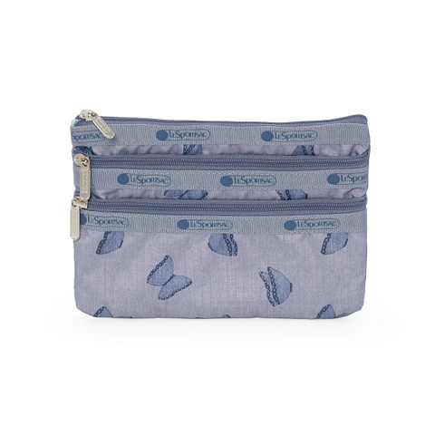 3-Zip Cosmetic Pouch - Volar | LeSportsac