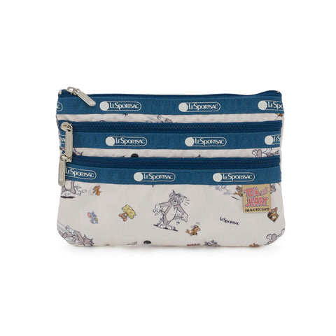3-Zip Cosmetic Pouch - The Chase | LeSportsac