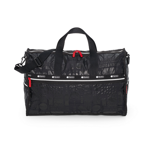 Large Weekender -  It's The Real Thing Noir | LeSportsac Malaysia