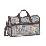 Large Weekender travel bag - Tom and Jerry Comic