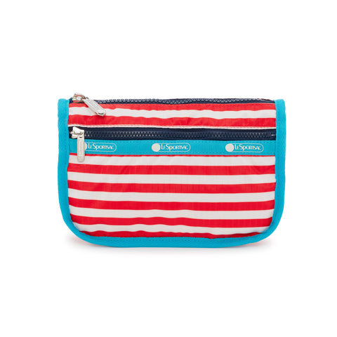 Travel Cosmetic Pouch - Shorey Stripe Red | LeSportsac