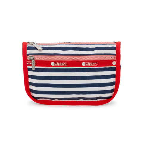 Travel Cosmetic Pouch - Shorey Stripe Navy | LeSportsac