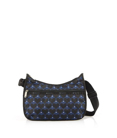 Classic Hobo | House Of hearts Blue - LeSportsac Malaysia