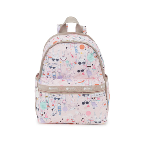 Basic Backpack - Fifi Pool Party | Fifi Lapin x LeSportsac