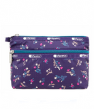 Cosmetic Clutch - Yucca Purple Bouquet | LeSportsac Malaysia