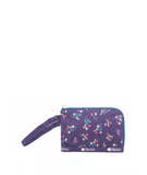 Curved Coin Pouch - Yucca Purple Bouquet | LeSportsac Malaysia