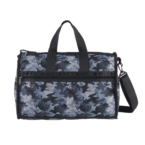 Medium Weekender - Camo Canvas Indigo | LeSportsac Malaysia
