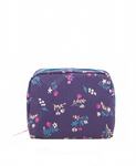 Square Cosmetic - Yucca Purple Bouquet | LeSportsac Malaysia