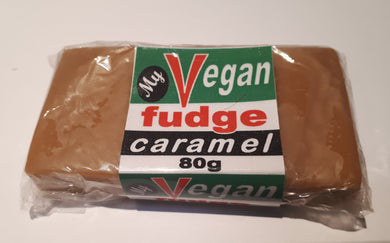 My Vegan Fudge Caramel flavour