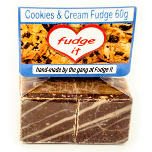Fudge Cookies and Cream Fudge