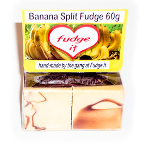 Banana Split Fudge