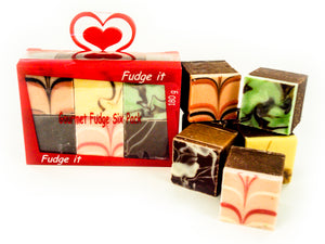 Gift box Fudge Six Pack