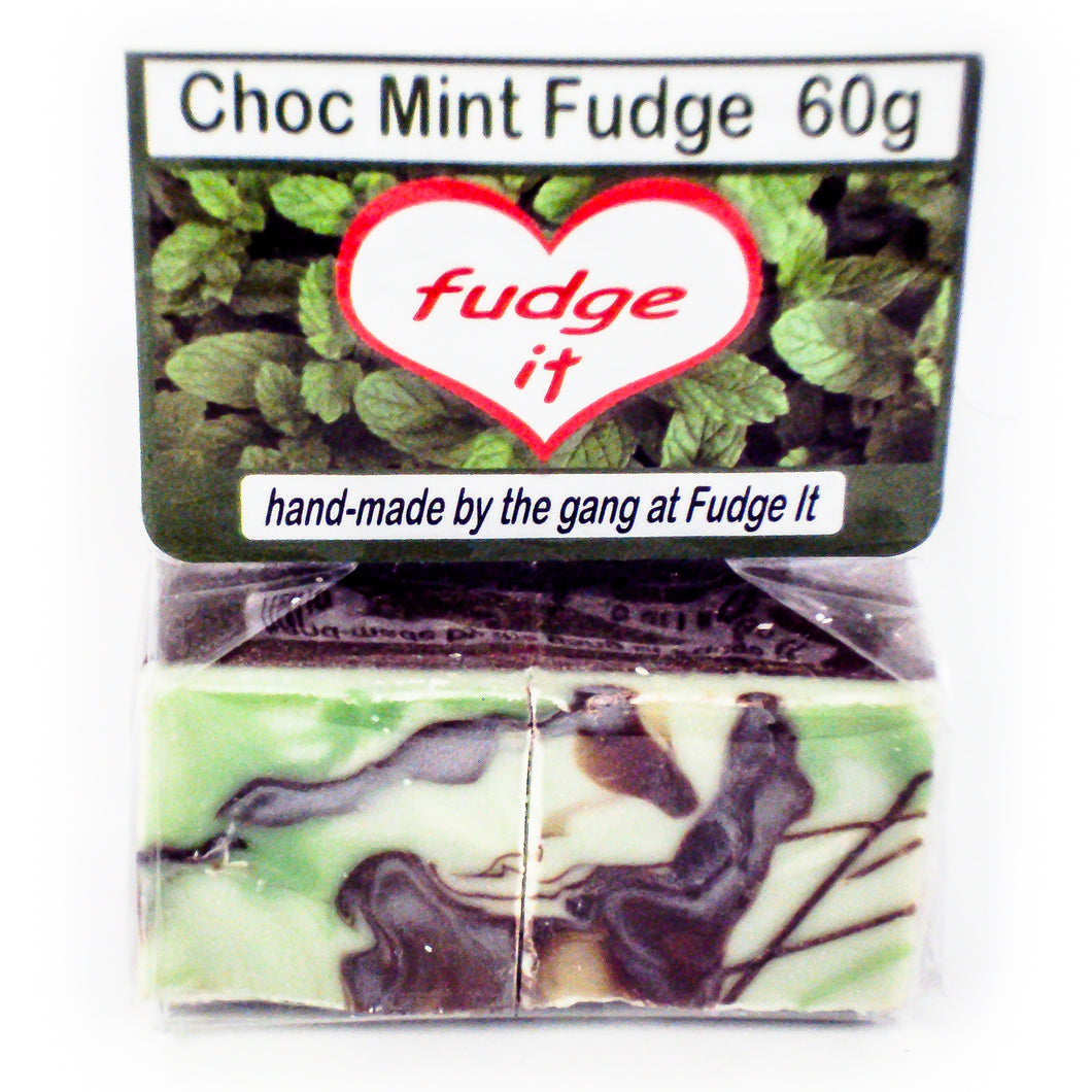 Fudge Choc Mint Fudge