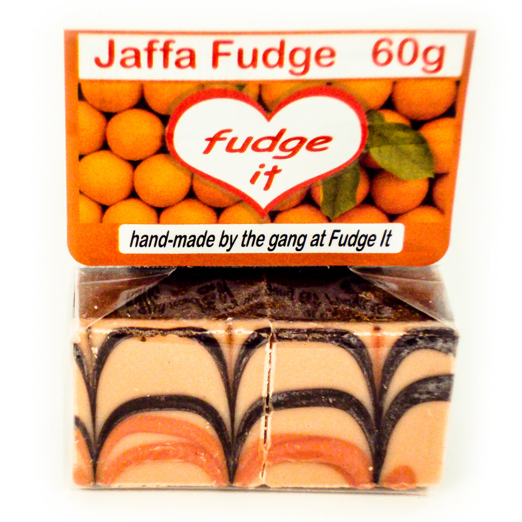 Fudge Jaffa Fudge