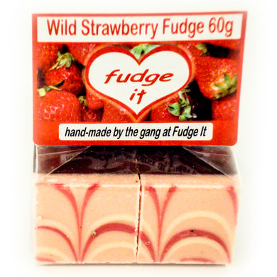 Wild Strawberry Fudge